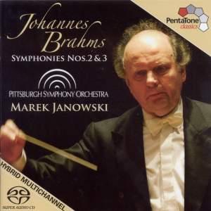 BRAHMS: Symohonies Nos. 2 and 3 (Janowski)