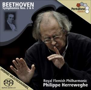 Beethoven - Symphonies Nos. 2 & 6 Product Image