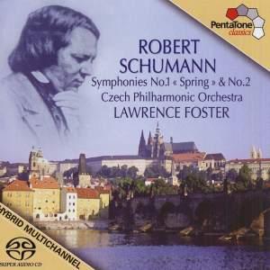 SCHUMANN, R.: Symphonies Nos. 1, 2 (Foster)
