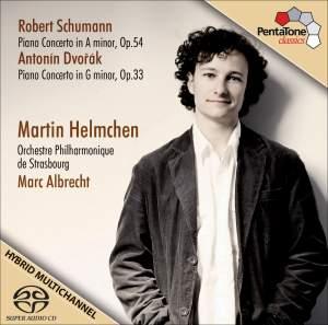 Schumann, R. / Dvorak, A.: Piano Concertos