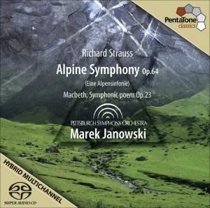 Strauss, R.: Alpensinfonie (Eine) (An Alpine Symphony) / Macbeth