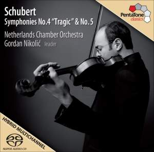 "Schubert, F.: Symphonies No. 4 ""Tragic"" and No. 5"