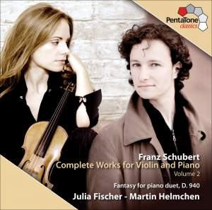 Schubert - Complete Works for Violin and Piano, Volume 2