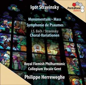 Stravinsky - Monumentum, Mass, Symphony of Psalms & Choral Variations