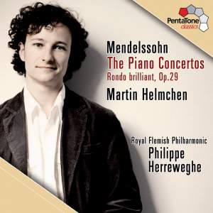 Mendelssohn: The Piano Concertos & Rondo Brilliant Product Image