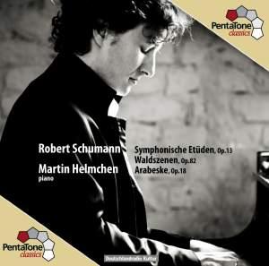 Schumann: Symphonische Etuden, Arabesque & Waldszenen Product Image