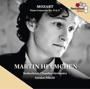 Mozart: Piano Concertos Nos. 15 & 27 Product Image