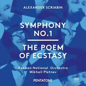 Scriabin: Symphony No. 1 & The Poem of Ecstasy Product Image