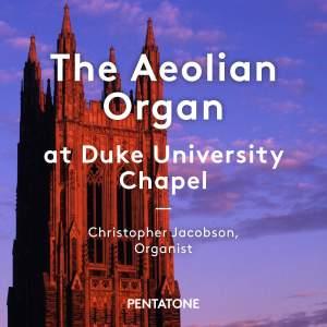 The Aeolian Organ at Duke University Chapel Product Image