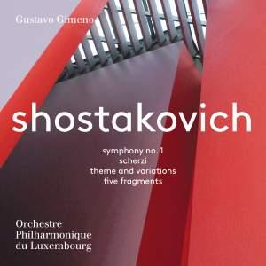 Shostakovich: Symphony No. 1 Product Image