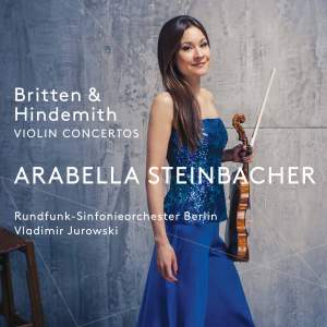Britten & Hindemith: Violin Concertos Product Image