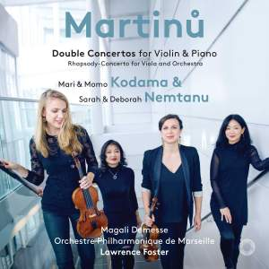 Martinů: Double Concertos for Violin and Piano Product Image