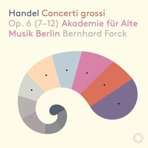 Handel: Concerti grossi: Op. 6 (7-12) Product Image
