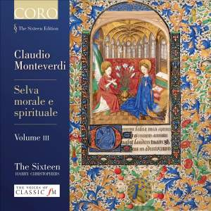 Monteverdi: Selva Morale e Spirituale Volume 3 Product Image