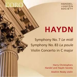 Haydn: Symphonies Nos. 7 & 83 & Violin Concerto in C major