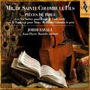 Mr. de Sainte Colombe - Pièces de Viole