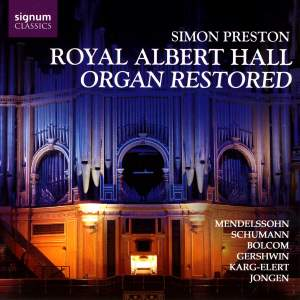 Royal Albert Hall Organ Restored - Simon Preston