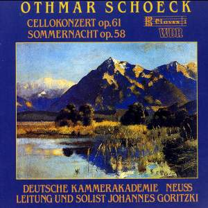 Schoeck: Concerto for Cello and Strings