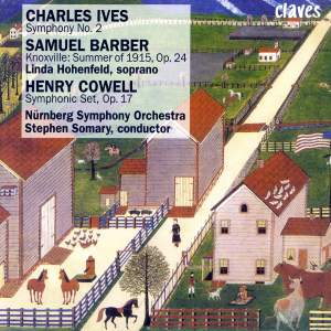 Barber, Ives & Cowell: Orchestral Works