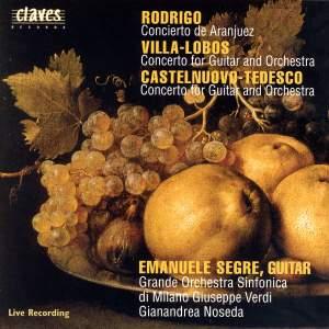 Rodrigo, Villa-Lobos & Tedesco: Concertos for Guitar and Orchestra