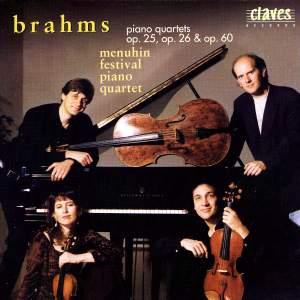 Brahms: Piano Quartets Nos. 1-3 (Complete)