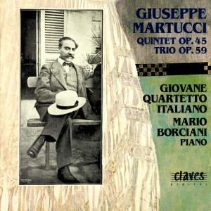 Martucci: Piano Quintet & Trio