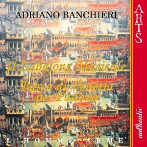 Banchieri: Il Zabaione musicale, etc.