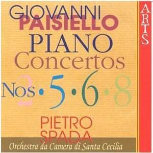 Paisiello: Piano Concertos Nos. 2, 5, 6 & 8 Product Image