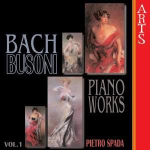 Bach Busoni Piano Works, Vol. 1