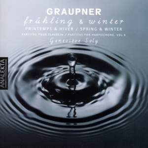 Graupner - Partitas for Harpsichord Volume 6