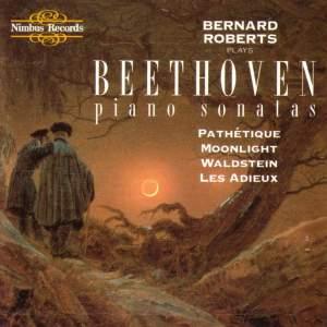 Beethoven: Piano Sonatas Nos. 8, 14, 21 & 26