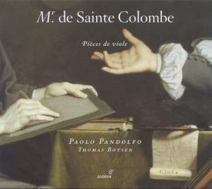 Monsieur de Sainte Colombe - Pieces for Viol