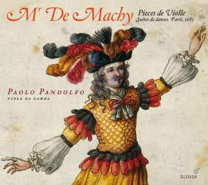 Monsieur De Machy: Pièces de viole Product Image