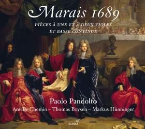 Marais 1689: Pièces à une et à deux violes