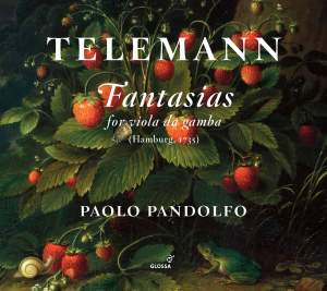 Telemann: Fantasias for viola da gamba TWV40:26-37 Product Image