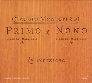 Monteverdi - Primo libro & nono libro dei madrigali