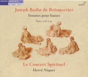 Boismortier: Sonatas for Bass Instruments