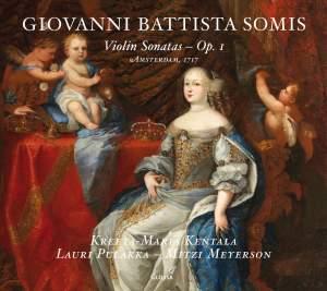 Giovanni Battista Somis: Violin Sonatas, Op. 1