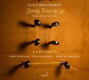 Boccherini: String Trios (6), Op. 34