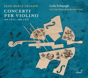 Jean-Marie Leclair: Concerti per Violino