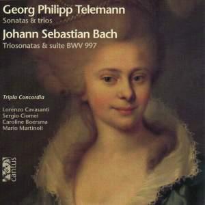 Telemann: Sonatas and Trios & JS Bach: Trio Sonatas and Suite BWV997