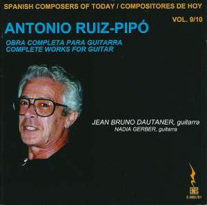 Ruiz-Pipó: Complete Works for Guitar Product Image