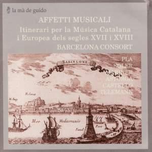 Affetti Musicali: Itinerari per la Musica Catalana Product Image