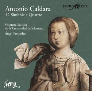 Antonio Caldara - 12 Sinfonie a Quattro