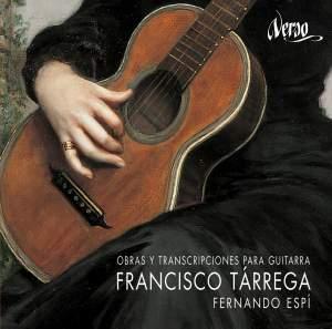 Francisco Tárrega: Obras y transcripciones para guitarra