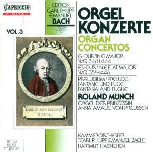 CPE Bach: Organ Concertos, Vol. 3 Product Image