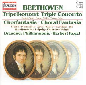 Beethoven: Triple Concerto & Choral Fantasia Product Image