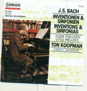 JS Bach: Two-Part and Three-Part Inventions & Six Little Preludes Product Image