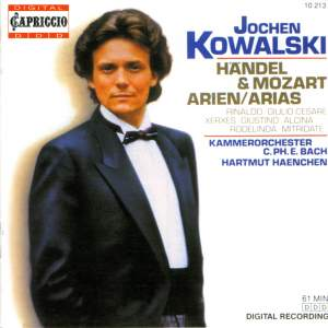 Handel and Mozart Arias for Countertenor Product Image