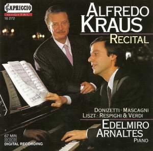 Alfredo Kraus: Vocal Recital Product Image